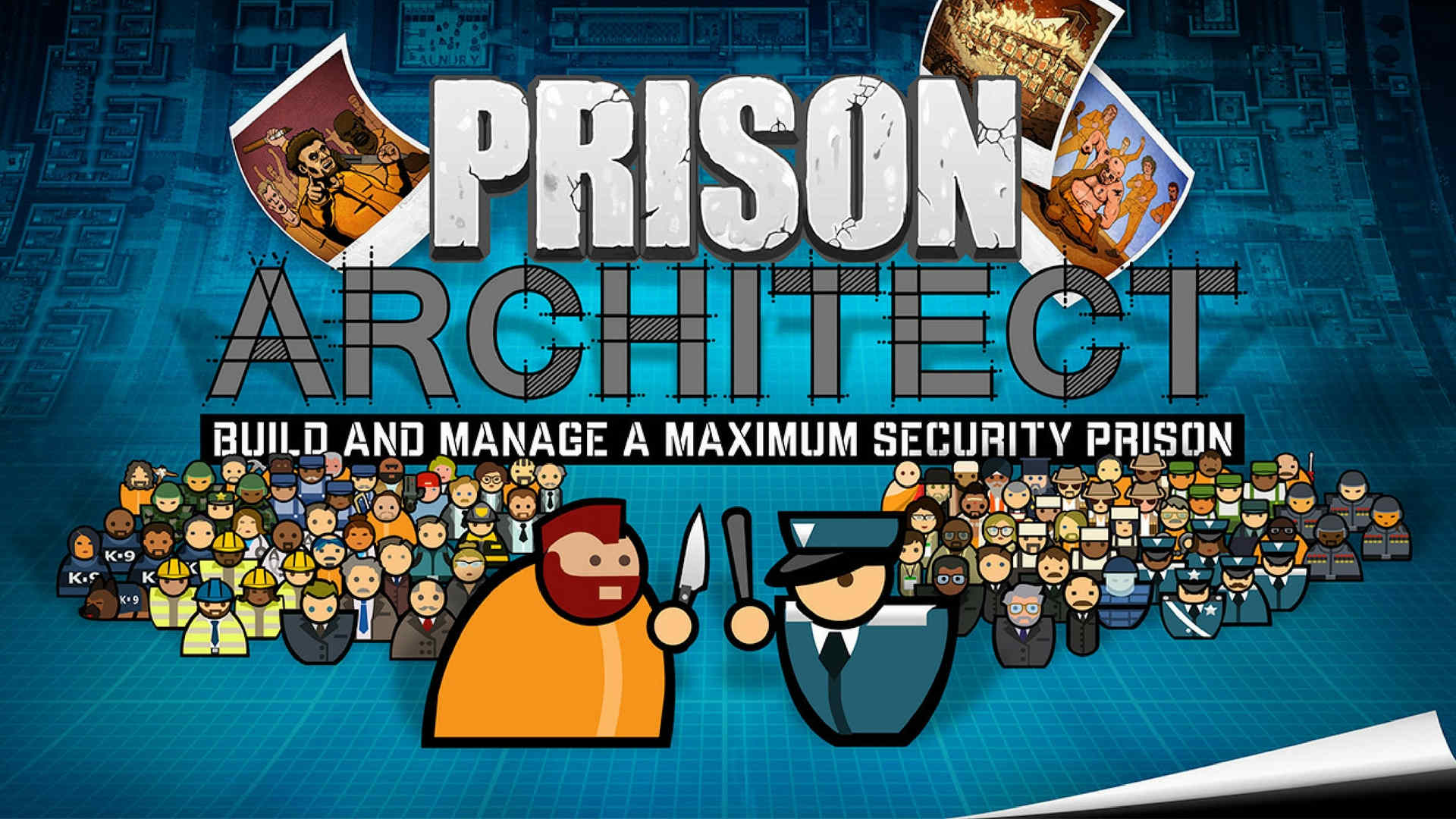 معمار زندان، یک بازی که توسط شرکت اینترُوِرژن سافتوِر[27] تولید شده است و بازیکننده را دعوت میکند تا زندانی کردن تعداد زیادی از افراد جامعه را ارزیابی کنند