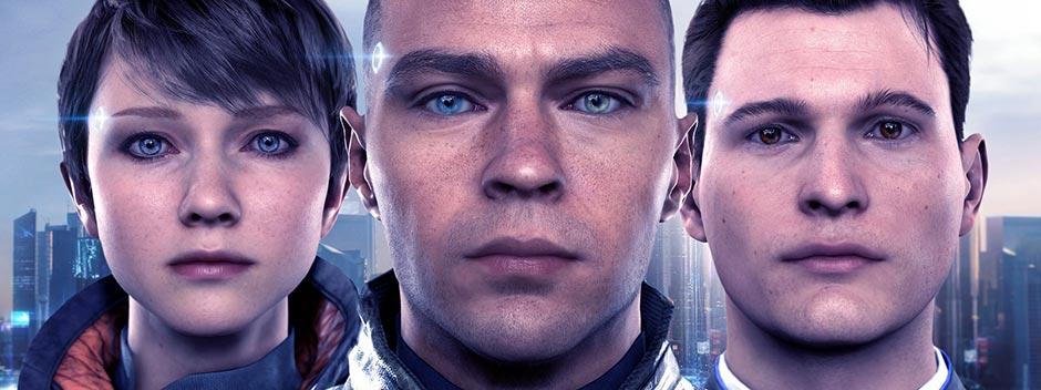 «کانر»، «مارکوس» و «کارا» سه روبات انساننما در بازی «دیتریت: انسان شو»